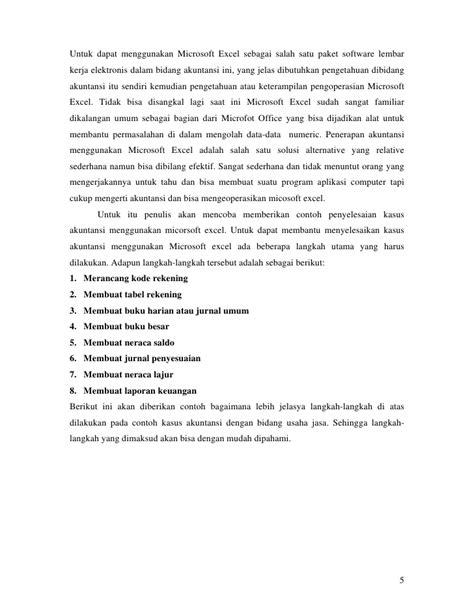 syarat membuat jurnal umum contoh jurnal akuntansi excel