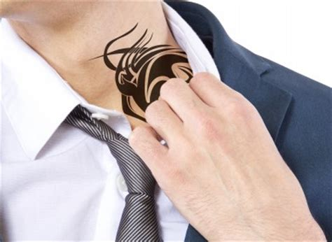 neck tattoo discrimination irish employers are still wary of staff with excessive tattoos