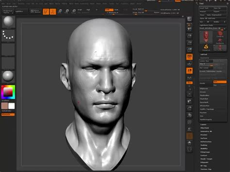 zbrush tutorial polypaint head detail and polypainting zbrush tutorial