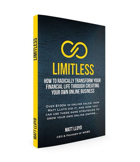 limitless lotus house books limitless matt lloyd s new book lofty tv