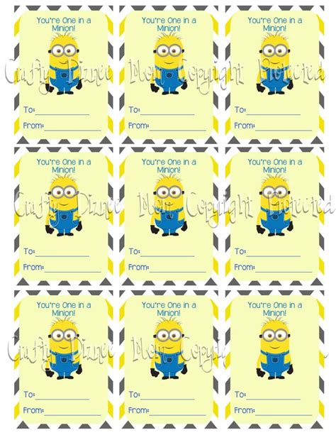 printable minion quotes 25 best ideas about minion valentine on pinterest