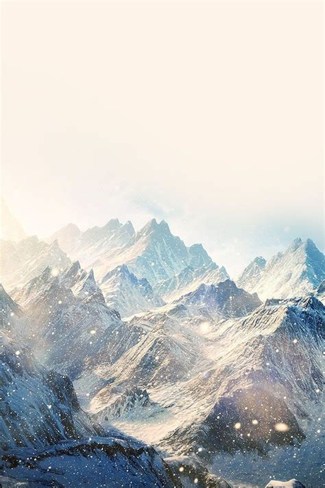 wallpaper for iphone landscape winter snowy mountain landscape iphone 4s wallpaper