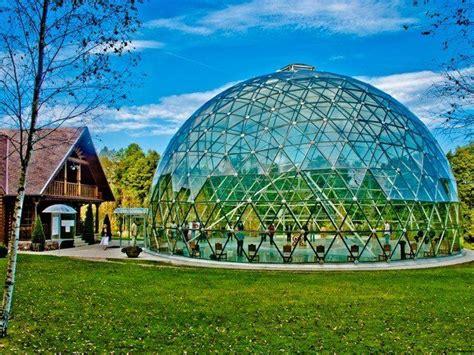 dome  merkine aluminium  glass construction