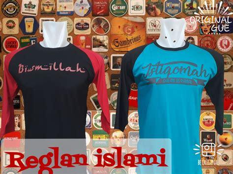 pusat grosir kaos distro raglan islami dewasa murah