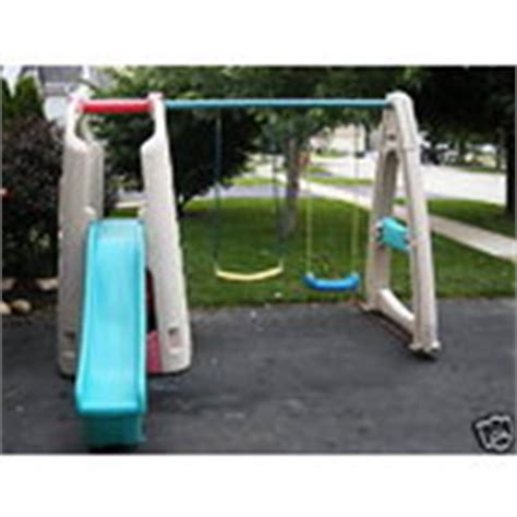 step 2 replacement swing step 2 swing set with slide and club house 07 08 2009