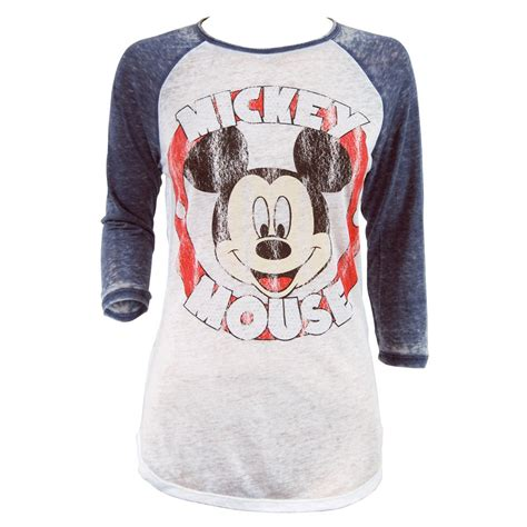 Mickey Mouse Shirt freeze womens mickey mouse sleeved t shirt