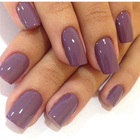 Colour Nail kyragensone ig kyrapg nailed it mauve nail mauve nails and mauve