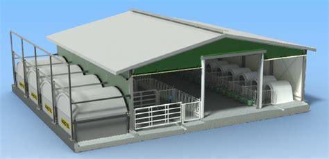 3d House Plan Design construction etable vache laitiere batiment bovin innovant
