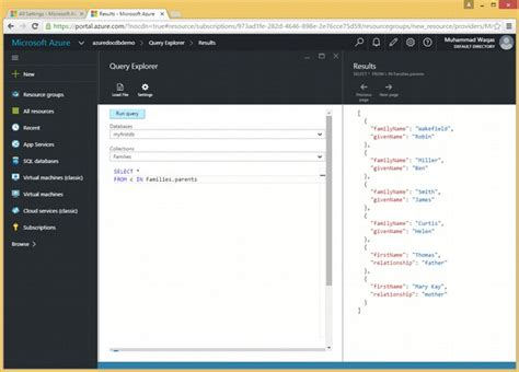 sql query in tutorial point documentdb sql iteration