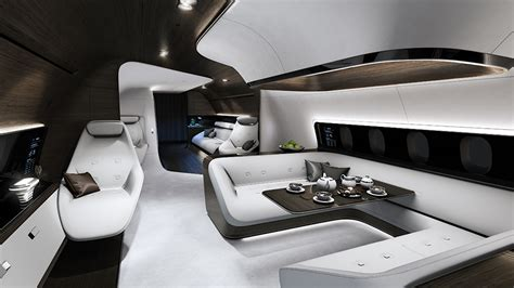 Jet Interiors by Mercedes Designs Luxury Aircraft Interior For Lufthansa