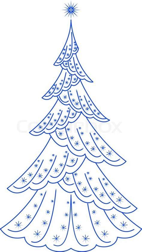 weihnachtsbaum piktogramm vektorgrafik colourbox