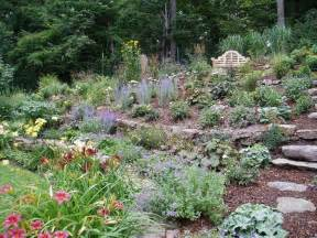 hillside planting garden pinterest gardens garden