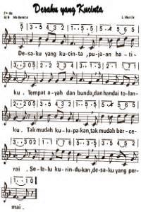 b 36 lagu untuk teman netral notasi lagu desaku yang kucinta tunas63