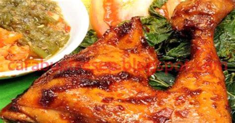 cara membuat opor ayam kung spesial ala restoran cara membuat ayam bakar padang resep masakan indonesia