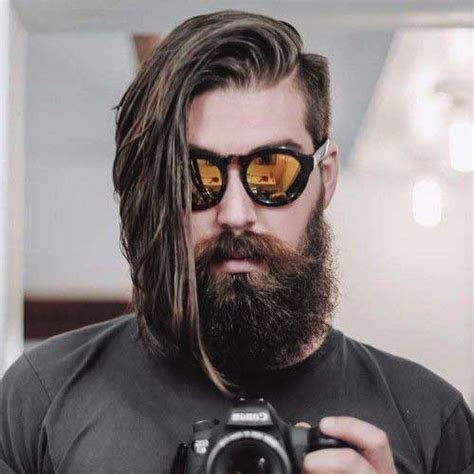 mens haircuts that compliment long beards 30 mens long hairstyles 2015 2016 mens hairstyles 2018