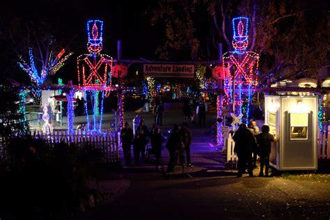 Zoolights When The Oakland Zoo Glows At Night Broke Zoo Lights Oakland Zoo