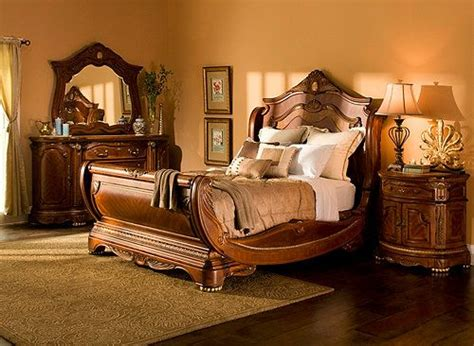 hampton court  pc king bedroom set bedroom sets raymour  flanigan furniture