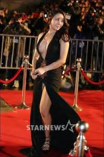 top 10 most revealing carpet dresses worn by korean