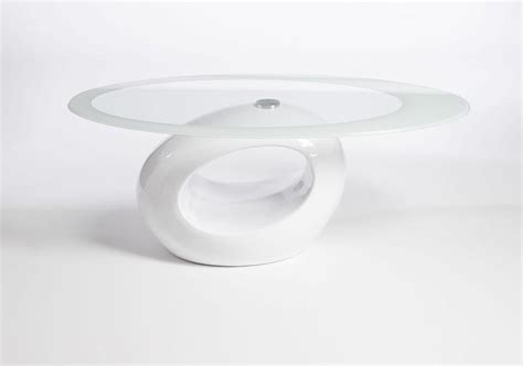 small white coffee table adds lovely style to home
