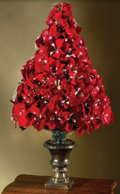 fiber optic poinsettia christmas tree jpg