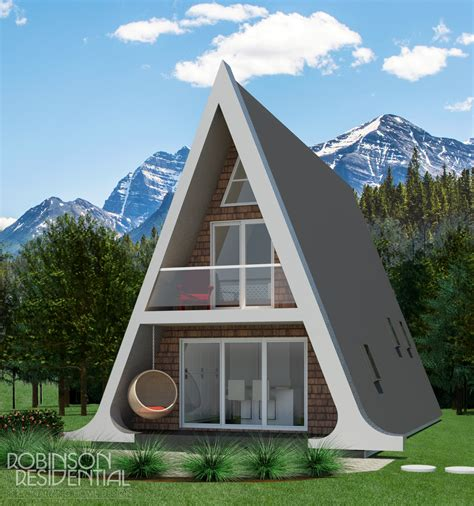 alberta a frame small home design