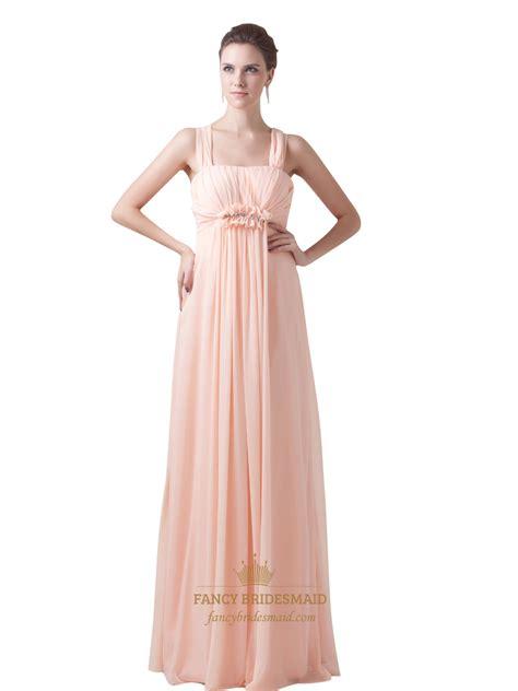 Bridesmaid Dresses by Chiffon Empire Waist Embellished Bridesmaid Dresses