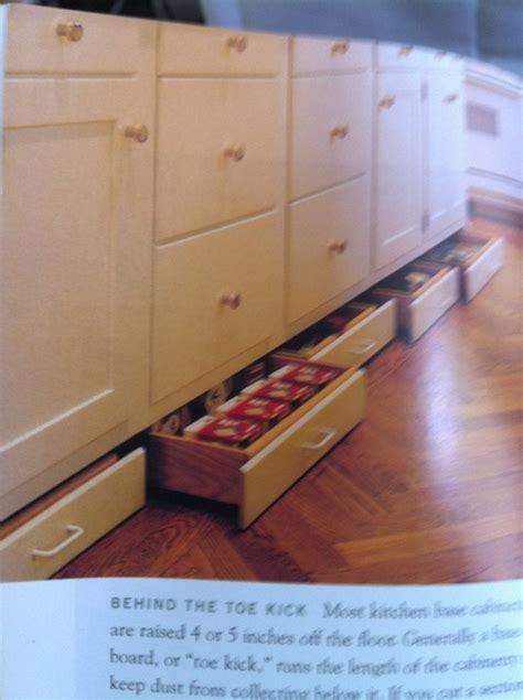 toe kick drawers kitchens