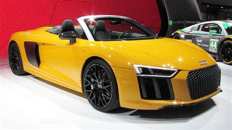 2016 audi r8 spyder v10 revealed in new york motoring