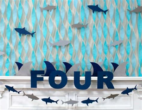 baby shark themed party sharks birthday quot rowen s jawsome shark party quot shark