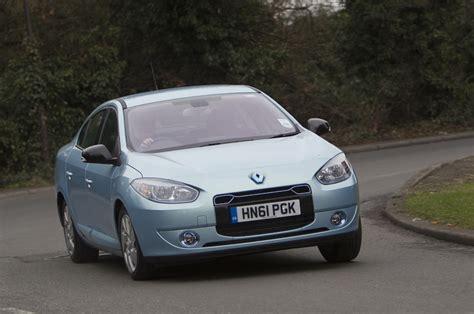 renault fluence ze renault fluence ze first uk drive review autocar