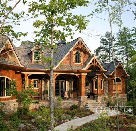 rustic luxury mountain house plan the lodgemont cottage