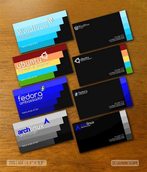 cara membuat kartu nama elegan desain kartu nama tutorial desain inkscape
