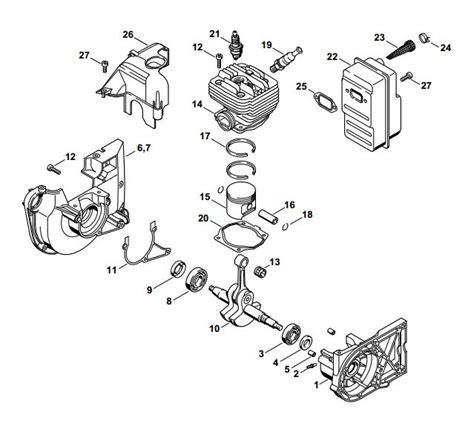 stihl ts400 parts diagram nikasil cylinder overhaul kit kit c stihl ts400 4223