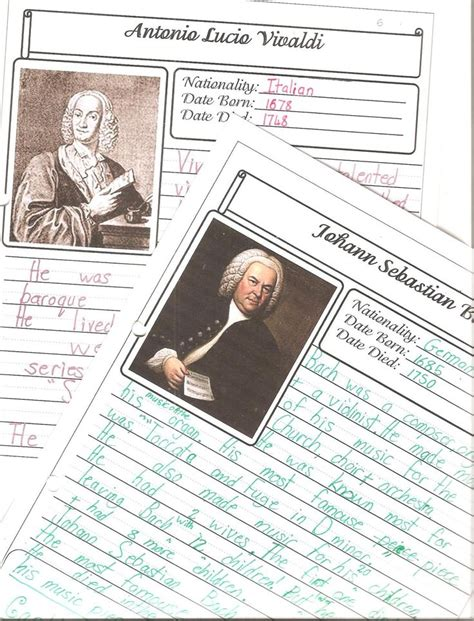 mozart biography for elementary 1000 images about music history on pinterest assessment