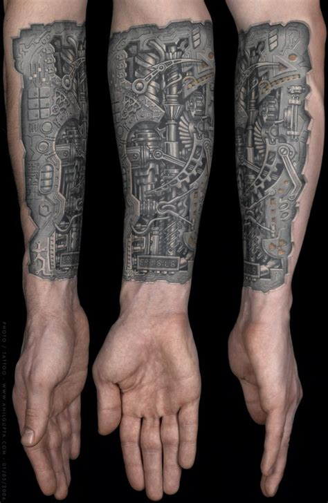 biomech tattoos biomechanical referral big planet