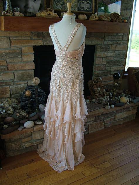 ruffled deco dream gowns  wedding dress