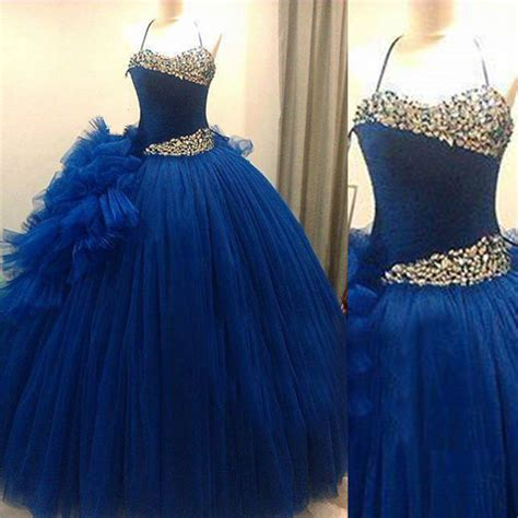 Royal Dress Turkish a line prom dress tulle prom dress royal blue prom dress dresses for prom formal prom