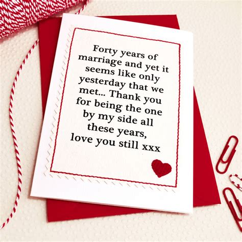 Wedding Anniversary Card by Handmade Wedding Anniversary Card By Arnott Cards
