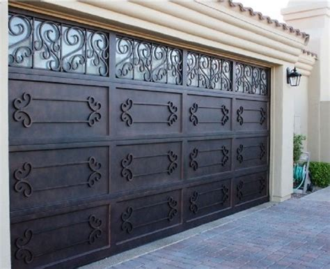 Used Overhead Doors These A Of Iron Shutters Garage Doors Are Used For Garages That Only The Capacity Of A