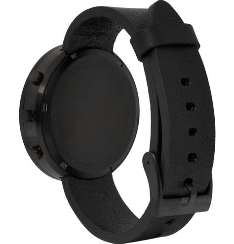 Sweater Steel Series Black lyst wares 302 series chronograph stainless