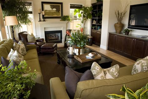 beautifully decorated living rooms 47 beautifully decorated living room designs dark brown