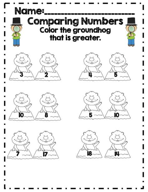groundhog day common sense media 164 best images about k5 comparing numbers on