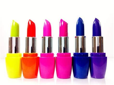 different color lipsticks blue shock by b preen me