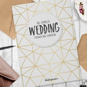 Wedding Planner Book   Complete Wedding Diary / Organiser