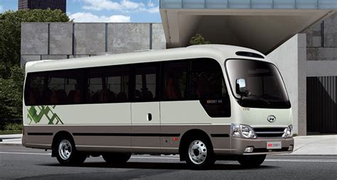 South County Hyundai by Two Hundred South Korean Made Buses To Be Exported To