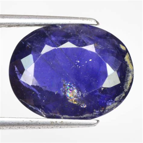 sensational gem iolite gemstone 5 05 ct