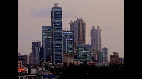 mumbai skyline   mumbai skyline video india