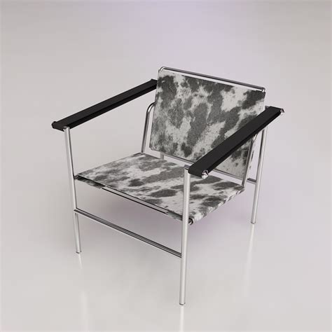 adesso director table l 3d le corbusier style chair high quality 3d models