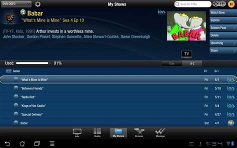 tivo app for android tivo tablet obsolete android apps on play