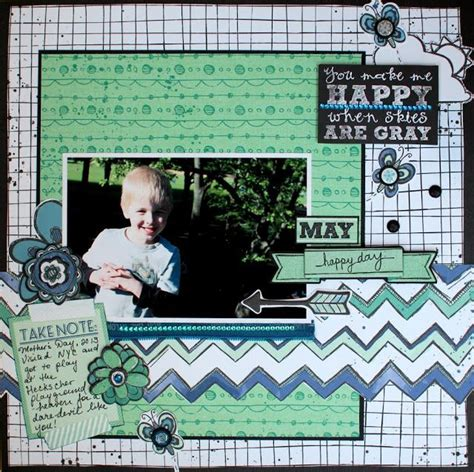 layout zip ilene tell designed this fun layout using the new zip a